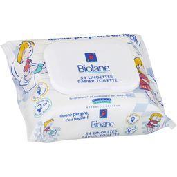 Lingettes papier toilette