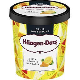 Häagen-Dazs Haagen-Dazs Fruit Obsessions - Crème glacée citron mandarine le pot de 400 g