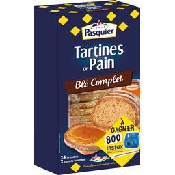 Pasquier Brioche Pasquier Tartines de pain recette au blé complet le paquet de 240 g
