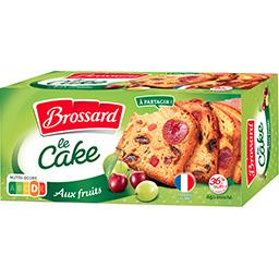 Brossard Brossard Le Cake aux fruits la boite de 300 g