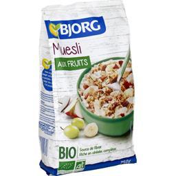 Bjorg Bjorg Muesli aux fruits BIO le paquet de 750 g