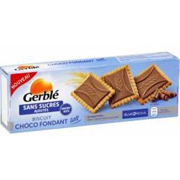 Biscuit chocolat fondant lait sans sucres ajoutés