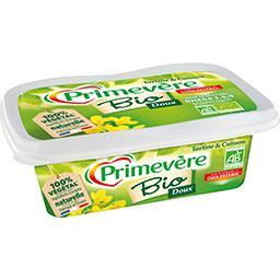 Primevère Primevère Margarine BIO tartine et cuisson doux la barquette de 250 g