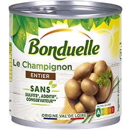Bonduelle Bonduelle Champignon entier sans sulfite, sans additif et sans conservateur La boîte de 390g