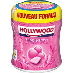 Tutti Frutti Hollywood Chewing-gum Bubble Fresh Tutti Frutti menthol sans sucres la boite de 87 g