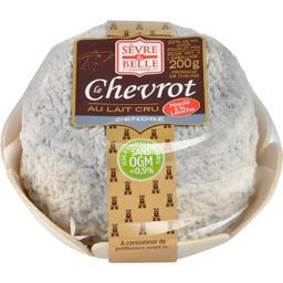 Sèvre & Belle Laiterie Le Chevrot au lait cru cendré le fromage de 200 g