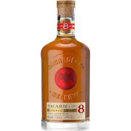 Bacardi Bacardi Rhum Reserva 8 ans la bouteille de 70 cl