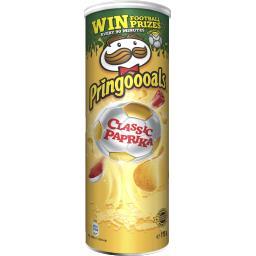 Pringles Pringles Snack Classic Paprika la boite de 175 g