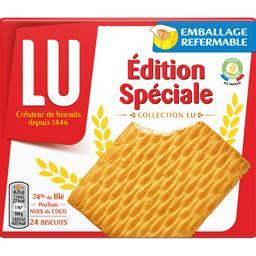 LU LU Biscuits Edition Spéciale parfum noix de coco le paquet de 24 biscuits - 150 g
