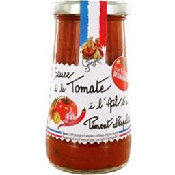 Sauce tomate à l'ail et au piment d'espelette