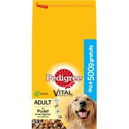 Pedigree Pedigree Vital Protection - Croquettes Adult au poulet pour chien le sac de de 4,5 kg