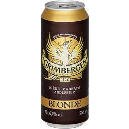 Bière d'abbaye blonde