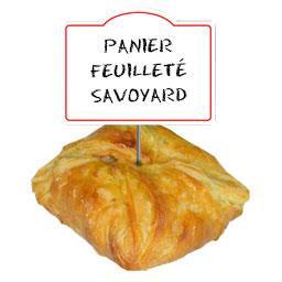 Claude Léger Panier feuilleté savoyard au Reblochon les 6 feuilletés de 140 g
