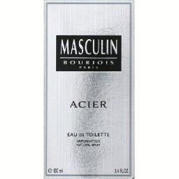 Eau de toilette Masculin Acier