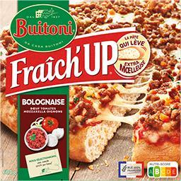 Buitoni Buitoni Fraîch'Up - Pizza bolognaise bœuf mozzarella la boite de 600 g