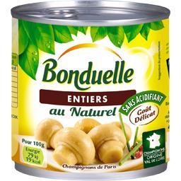 Bonduelle Bonduelle Champignons de Paris entiers au naturel la boite de 230 g net égoutté