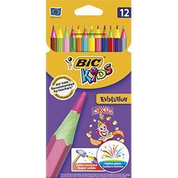 Bic Crayons de couleurs Kids Evolution Circus