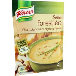 Knorr Knorr Soupe forestière, champignons et oignons rissolés le sachet de 85 g