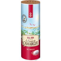 Le Saunier De Camargue Sel fin moulu le paquet de 250 g