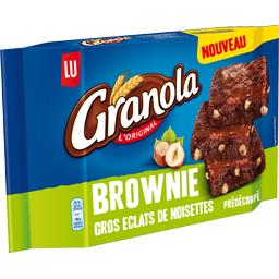Granola - Brownie gros éclats de noisettes prédécoup...