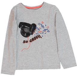Tee-shirt gris garçon taille 4 ans