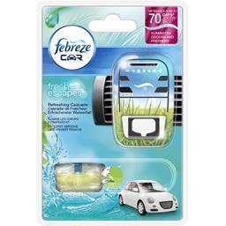 Désodorisant pour voiture aqua cascade avec 1 recharge