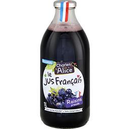 Le jus Français de raisins