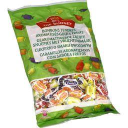 Bonbons tendres aromatisés goûts fruits
