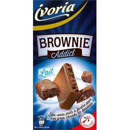 Chocolat au lait Brownie Addict