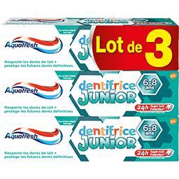 Dentifrice Junior 6-8 ans goût menthe