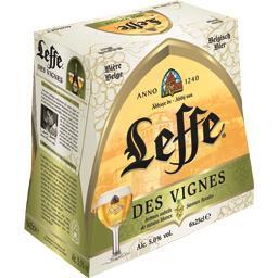 Leffe Leffe Bière des Vignes les 6 bouteilles de 25 cl
