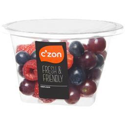 Mélange de fruits rouges fraise,raisin,myrtille et framboise, C'ZON, bol, 210g