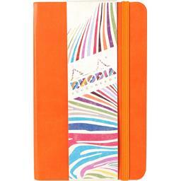 Carnet à élastique velin 90x140 coloris assortis