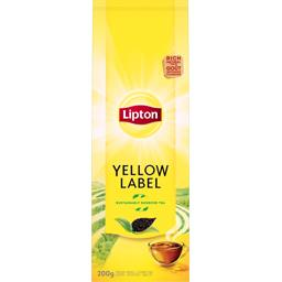 Yellow label tea, thé en feuilles