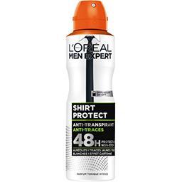 L'Oréal Men Expert de L'Oréal Déodorant Shirt Protect anti traces parfum tonique intense l'atomiseur de 200 ml