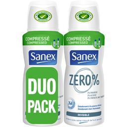 Déodorant Zero % invisible