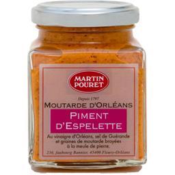 Moutarde d'Orléans piment d'Espelette