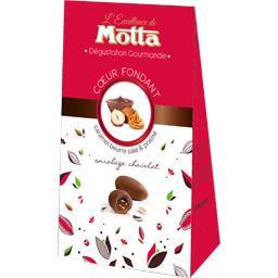 Motta Cœur fondant caramel beurre salé & praliné la boite de 125 g