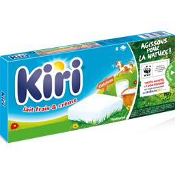 Kiri Kiri Fromage fondu lait frais & crème la boite de 8 - 160 g