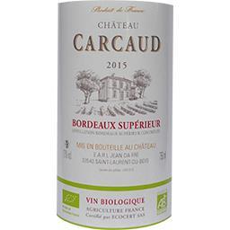 Bordeaux Supérieur BIO, vin rouge