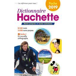 Dictionnaire hachette encyclopédique de poche