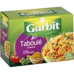 Taboulé oriental curry et coriandre
