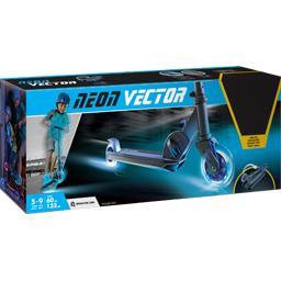 Trotinette Neon Vector