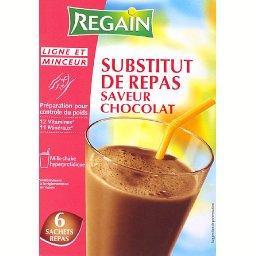 Substitut de repas saveur chocolat 6x35g