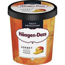 Häagen-Dazs Haagen-Dazs Sorbet mangue le pot de 443 g