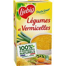 Liebig Liebig PastaSoup' - Soupe légumes et vermicelles la brique de 1 l