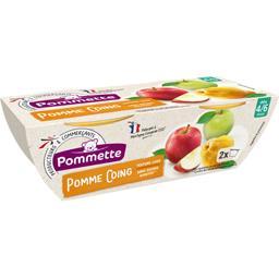 Purée pomme coing, dès 4/6 mois