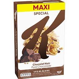 Special K - Céréales feuilles de chocolat noir