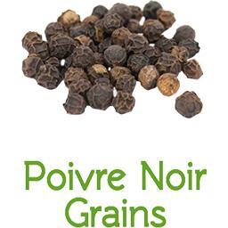 Poivre noir en grains BIO en VRAC