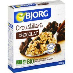 Equili'dej soja chocolat bio ,BJORG,le paquet de 500g